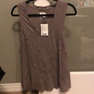 NWT Anthropologie Meadow Rue tank top shirt Large